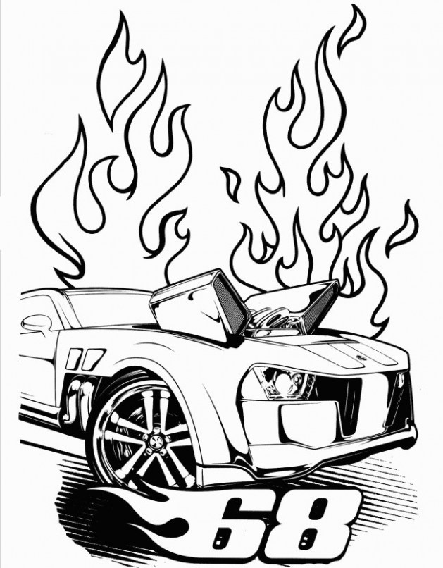 629x806 Car Coloring Sheets Baffling Awesome Draw A Race Car Giant Tours