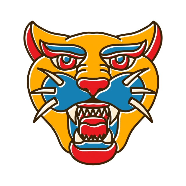 640x640 Jaguar Head Bohotattoo, Power, Drawing, Cat Png And Vector
