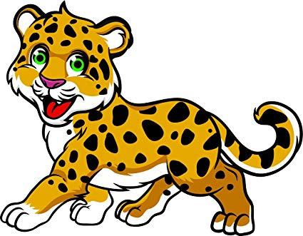 425x331 Cute Happy Baby Wild Cat Cub Cartoon Emoji Vinyl