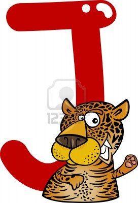 272x400 Cartoon Illustration Of J Letter For Jaguar Jaguars