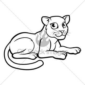 325x325 Angry Jaguar Head Drawing Gl Stock Images