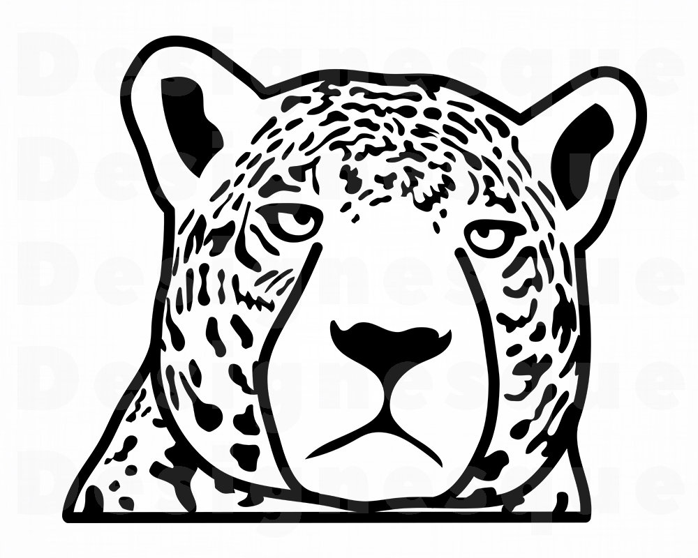 1000x800 Jaguar Jaguar Mascot Leopard Jaguar Clipart Etsy