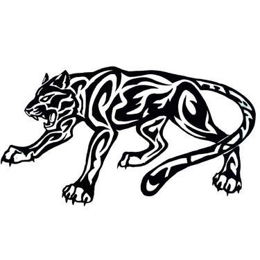 375x375 Tattoo Symbols That Represent Strength Black Panther Jaguar
