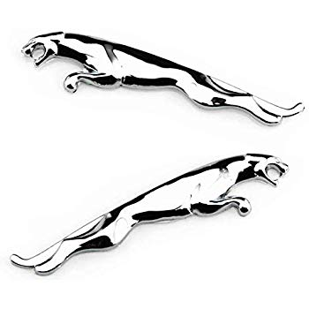 350x350 Bearfire Zinc Alloy Car Badge Jaguar Hood Badge