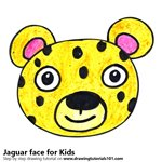 150x150 Learn How To Draw A Jaguar Face For Kids