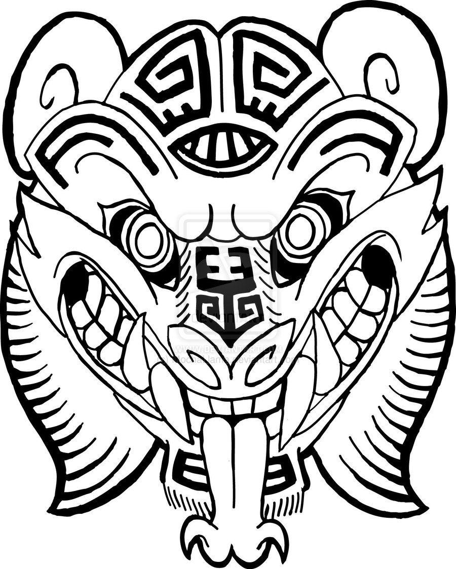 900x1123 Mayan Jaguar God