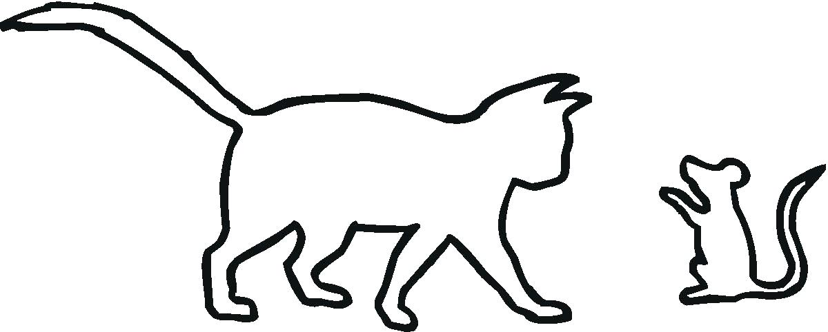 1200x482 Free Animal Outline Download Free Clip Art Free Clip Art