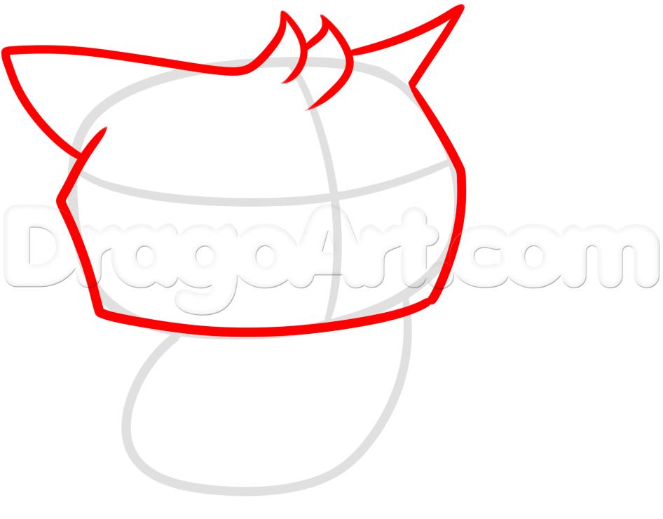 946x740 Draw An Animal Jam Owl, Step
