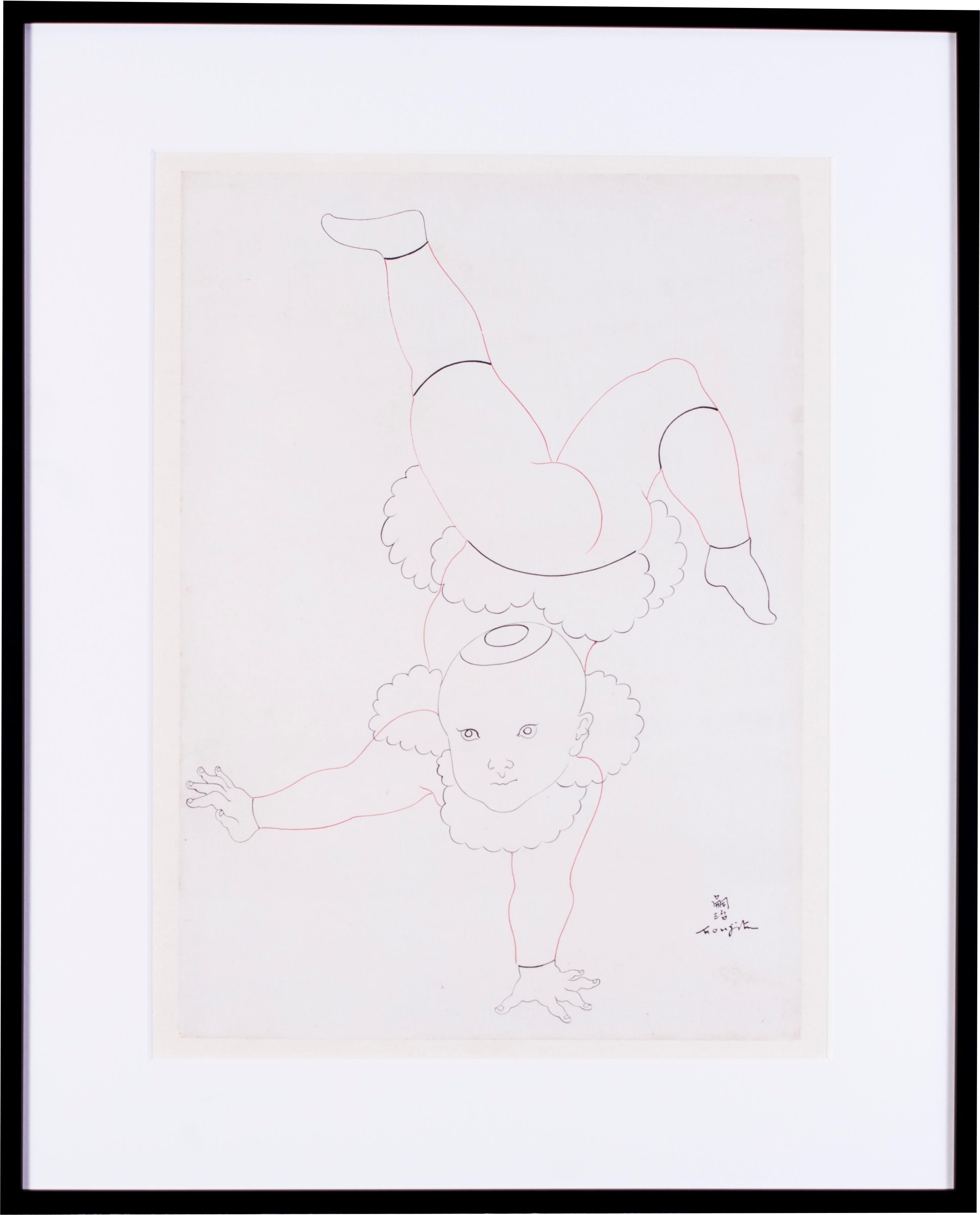 2951x3660 Tsugouharu Foujita Art