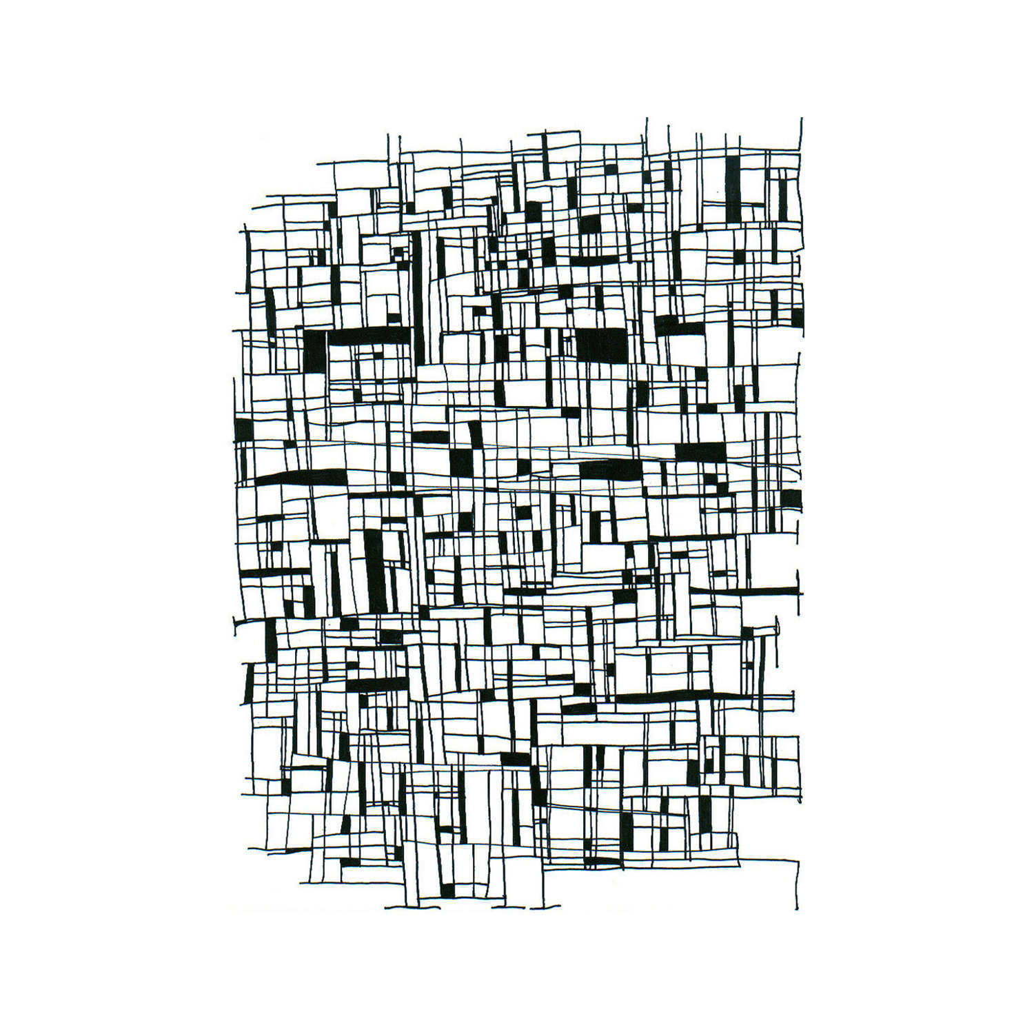 1500x1500 Roads Art Line Lines Drawing Drawings Paper Black And Etsy