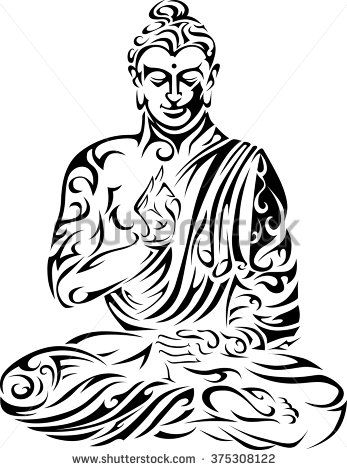 347x470 Buddha Large Wall Decals Paintings Buddha, Custom Wall Decals