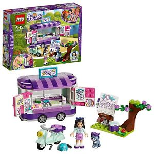 300x300 Lego Friends Emma's Drawing Art Wagon Block Building Toy
