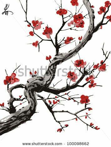 355x470 Ideas Cherry Blossom Tattoo In Japanese Cherry Tree