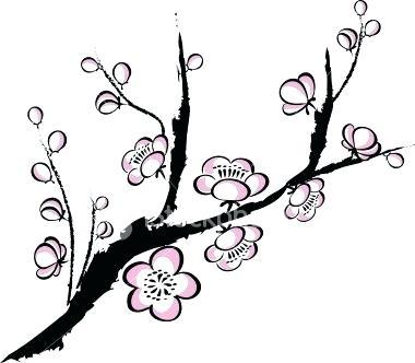 380x332 Cherry Blossom Draw Japanese Cherry Blossom Easy Drawing