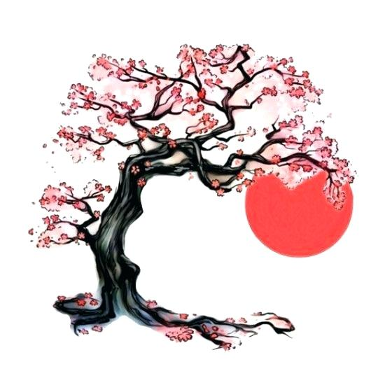 530x530 Cherry Blossom Tree Tattoos Sleeve Designs Keyzee