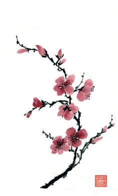 236x392 Japanese Cherry Blossom Tree Tattoo Design Tats Tatuajes De
