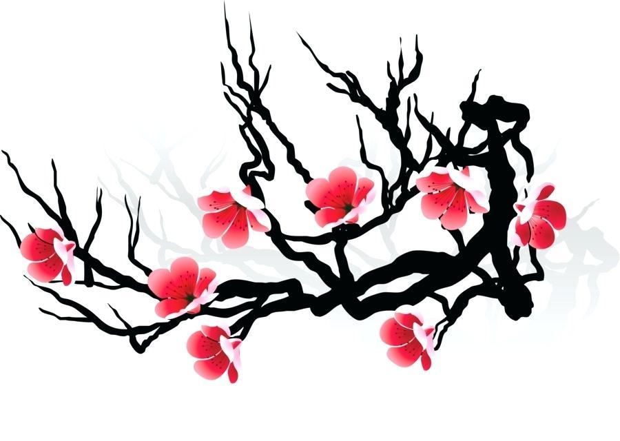 900x640 Cherry Blossom Drawing Oakeydoak