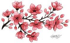 236x146 Best Cherry Blossom Drawing Tattoo Idea Images Cool Tattoos