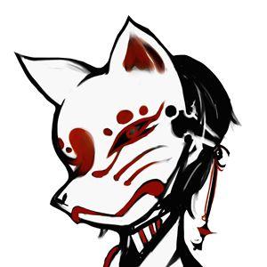 300x300 kitsune mask mask kitsune mask, japanese mask, japanese fox mask