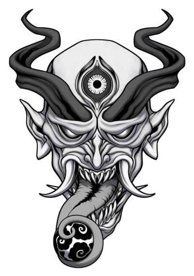 400x568 Oni Tattoo Tumblr