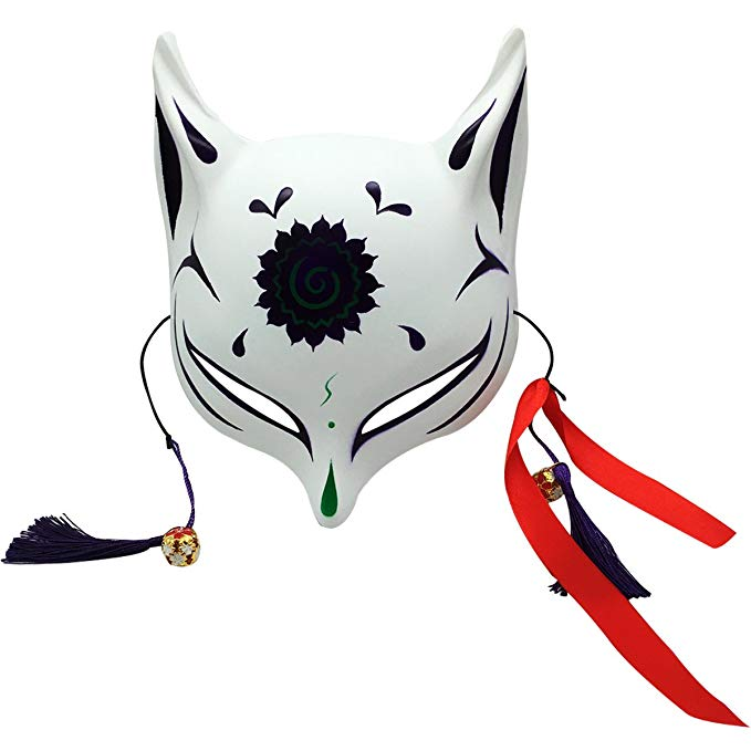 679x679 Yangyong Large Fox Mask For Adults And Kids, Japanese