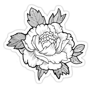 375x360 japanese flower sticker products japanese flowers, japanese