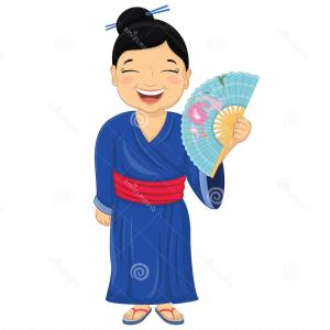 300x300 geisha drawing illustration vector japanese geisha soidergi