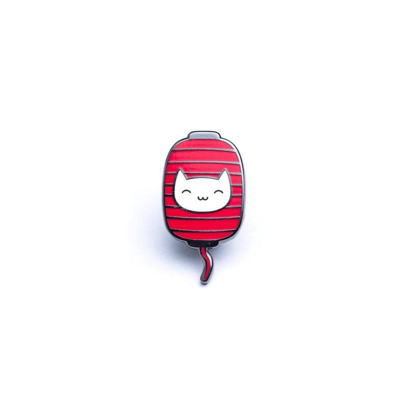 794x794 lantern cat enamel pins japanese pin lapel pins japan etsy