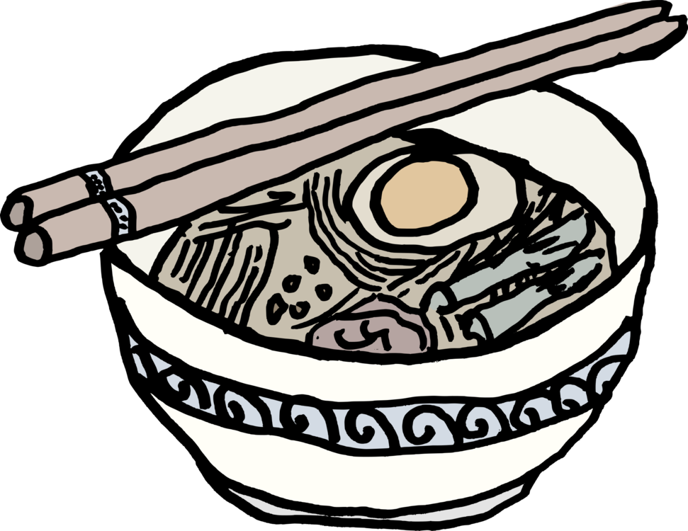 971x750 Ramen Japanese Cuisine Instant Noodle Drawing Computer Icons Cc0