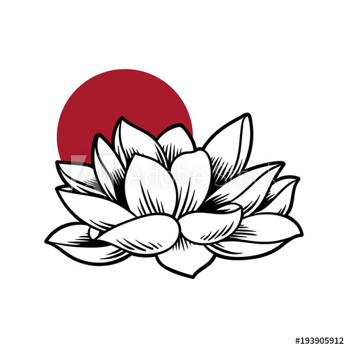 500x500 Illustration Of Japanese Drawing Style