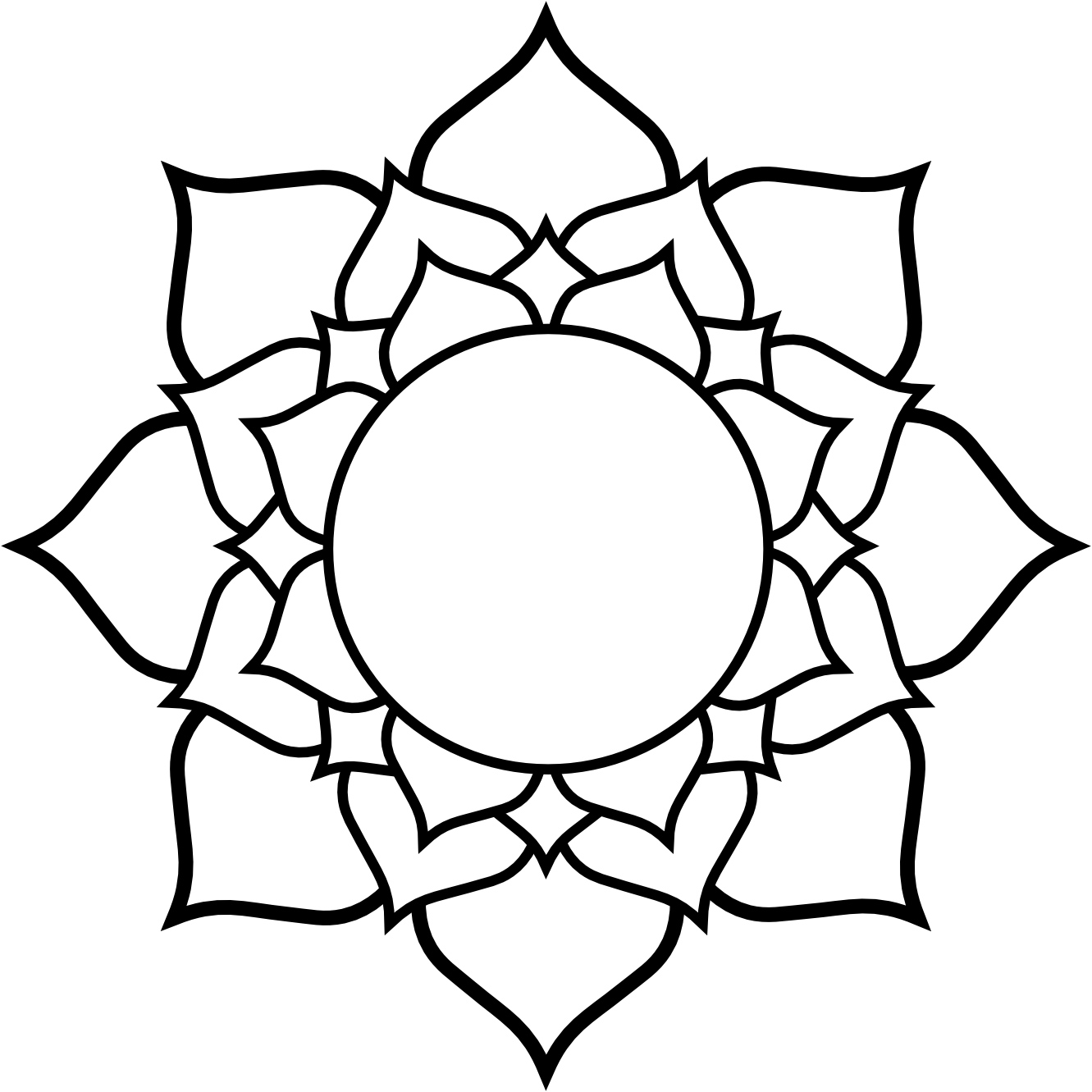 1331x1331 Lotus Flower Tattoo Drawing Pictures And Cliparts, Download Free
