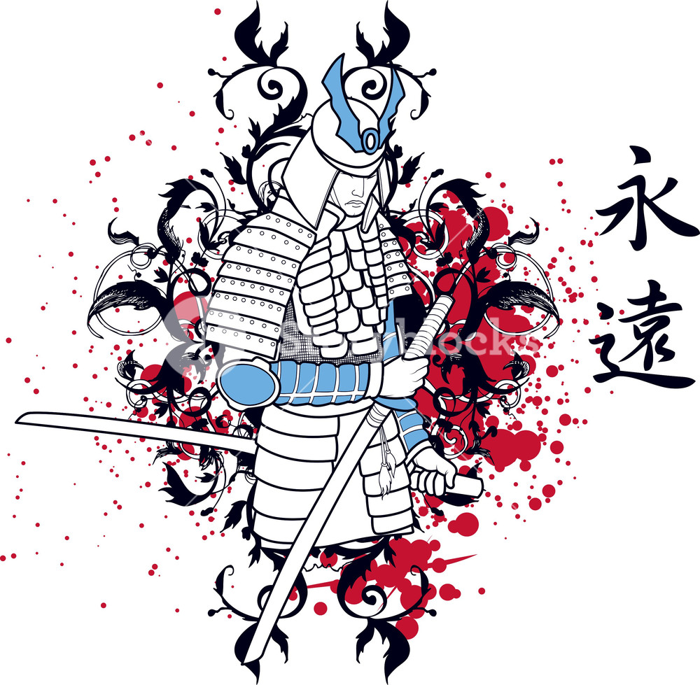 1000x979 Japanese Vector T Shirt Design With Temple Royalty Free Stock