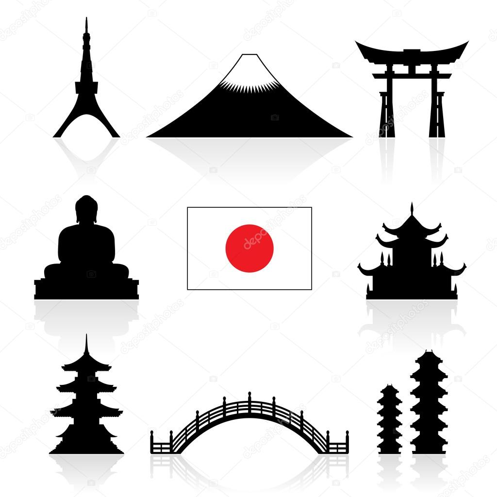 1024x1024 Temple Clipart Landmark Japan Frames Illustrations Hd Images