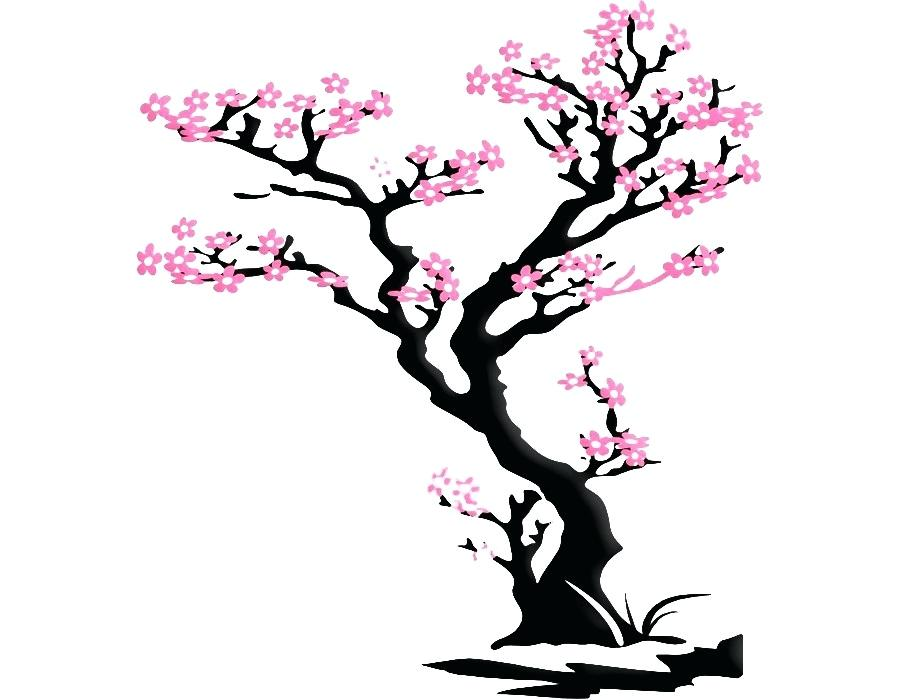 900x700 Cherry Blossom Stickers Japanese Decal Tripea