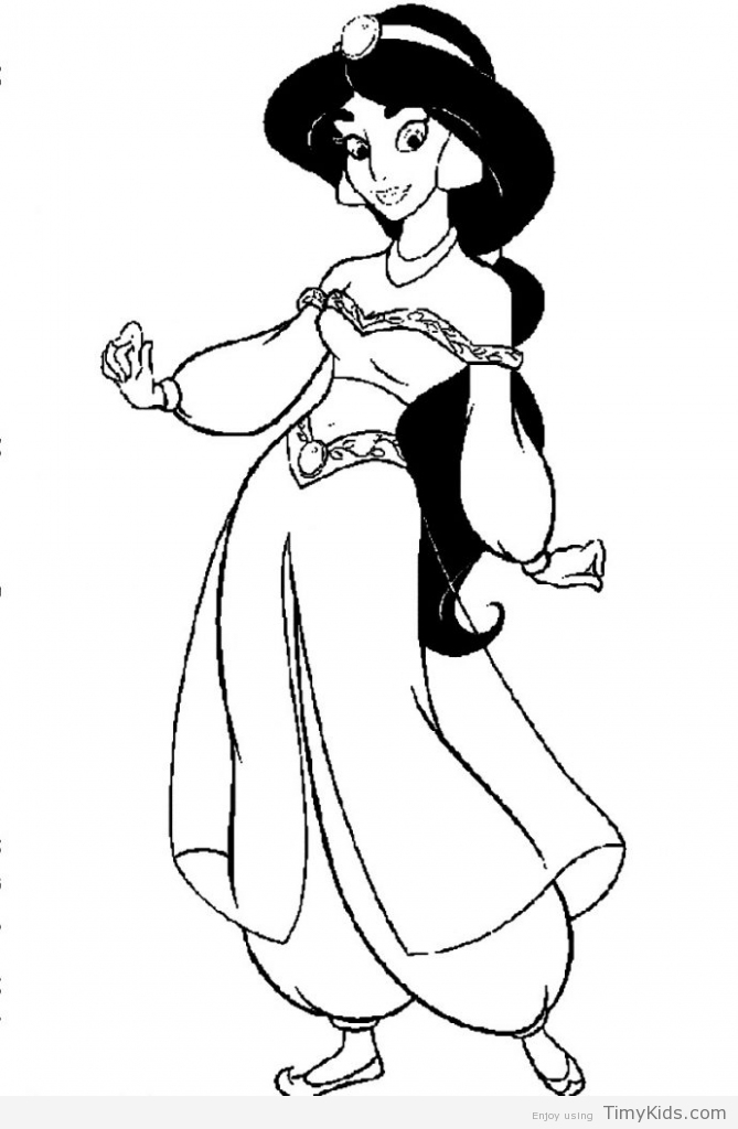 669x1024 Barbie Drawing Jasmine For Free Download