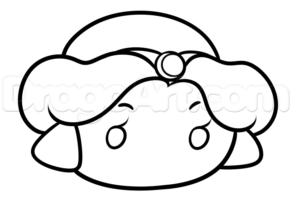 950x651 Step How To Draw Tsum Tsum Jasmine