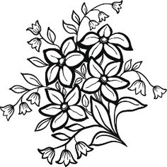 Jasmine Flower Drawing Tattoo
