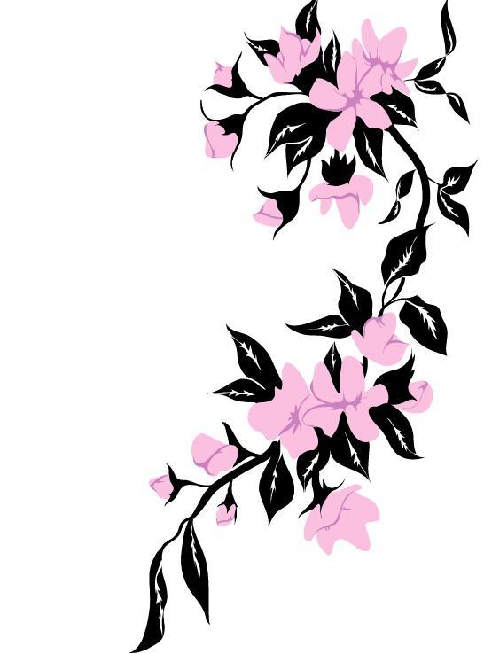 546x738 Flower Tattoo Clipart Elegant