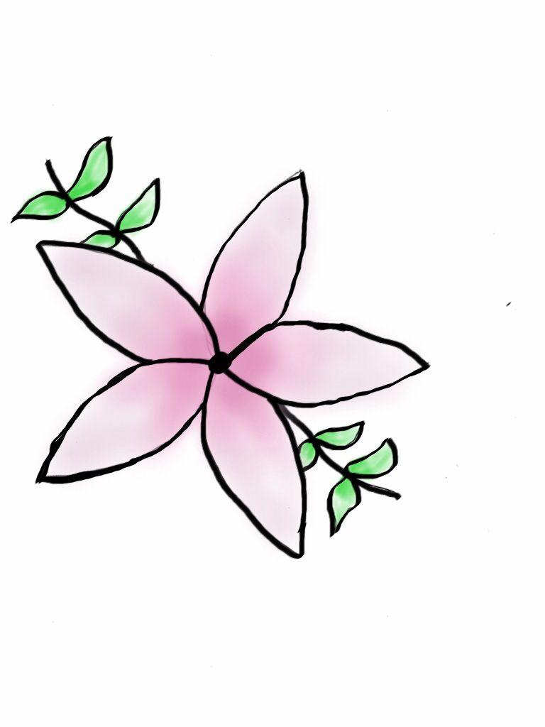 768x1024 Jasmine Flower Tattoo Idea Tattoos Jasmin, Blumen