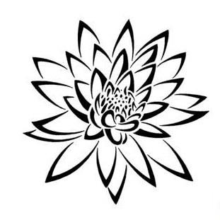 311x311 Tribal Flower Tattoo Designs Clip Art