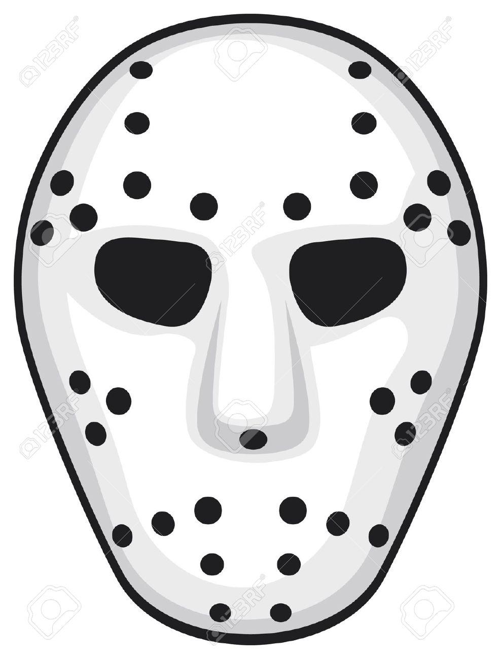 Halloween Jason Mask Cartoon.Jason Mask Drawing Free Download Best Jason Mask Drawing On