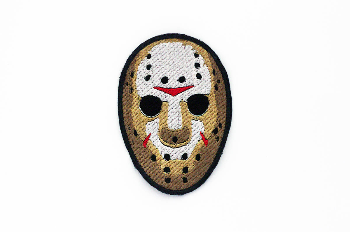 1200x797 jason voorhees patch jason voorhees mask patch friday the etsy