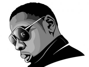 Jay Z Drawing