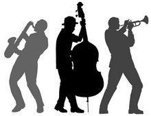 Jazz Band Drawing
