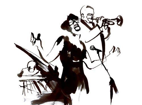 500x369 Jazz Band
