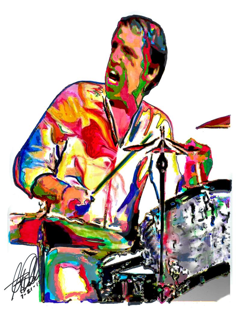 794x1059 Buddy Rich Drummer Drums Percussion Jazz Big Band Swing Etsy