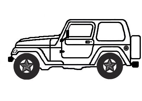 479x339 Image Result For Jeep Sketch Jeep Jeep, Jeep Drawing, Monster
