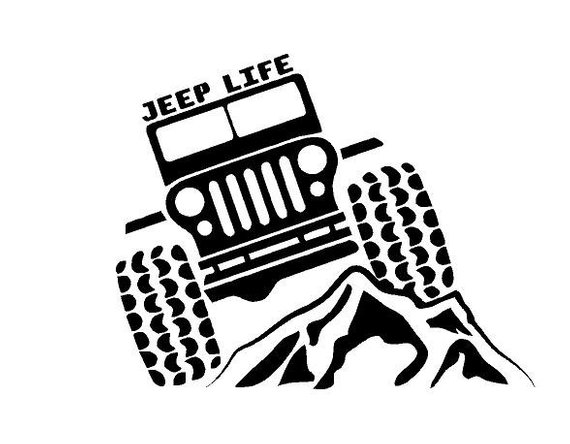 570x444 jeep life decal jeep life car decal jeep life vinyl decal jeep