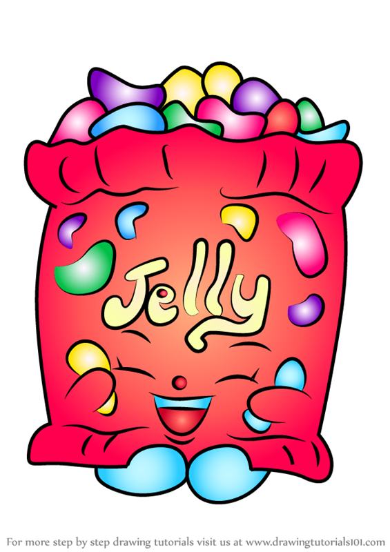 565x800 Learn How To Draw Jelly B From Shopkins