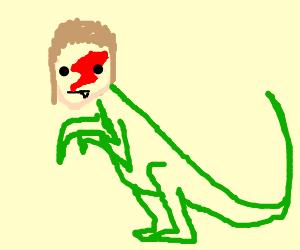 300x250 jennifer aniston and a velociraptor